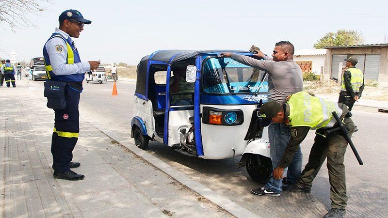 Motocarristas de Soledad deberán portar carné con datos personales, del vehículo y del propietario