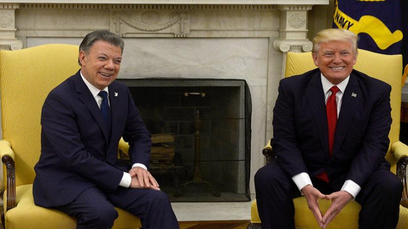 Santos y Trump se reunirán durante Asamblea de la ONU