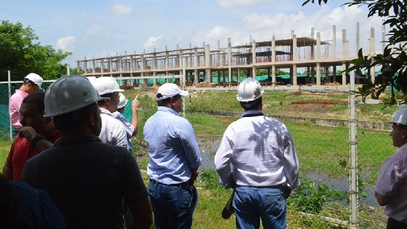 A buen ritmo avanza construcción de nueva sede del Sena en Malambo