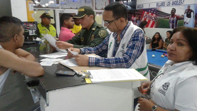 Alcaldía cierra dos establecimientos por infringir el código de Policía