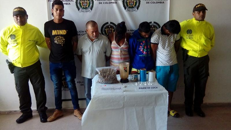 Cae banda 'Los Forasteros' que vendía droga a domicilio en municipios del Atlántico
