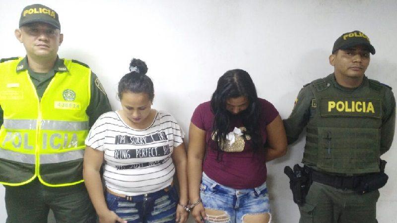 Capturan a dos mujeres que andaban dando escopolomina en discotecas de la 8