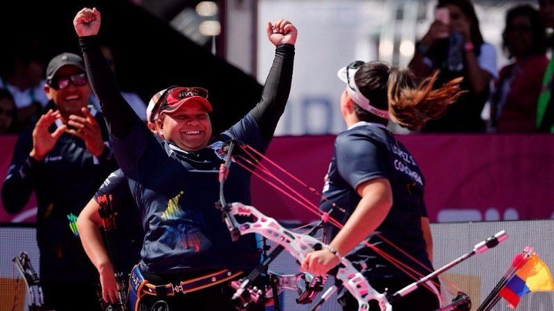 Colombia, campeón mundial por equipos en arco compuesto femenino