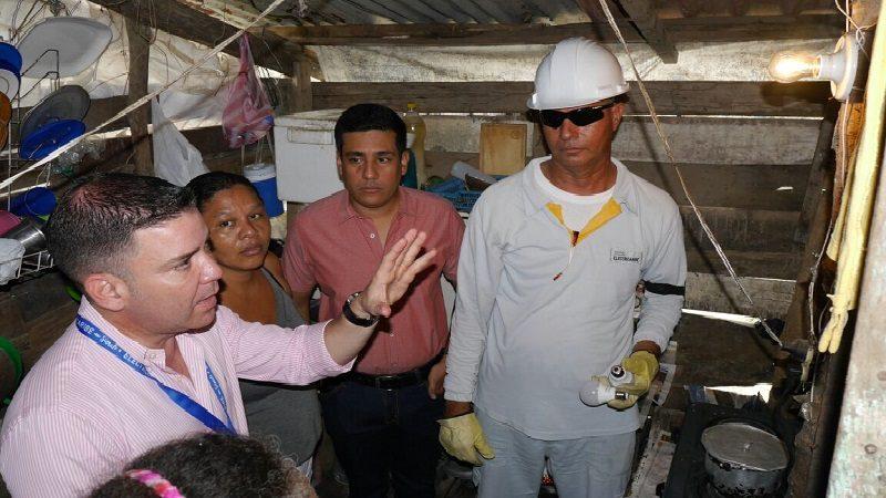 Electricaribe entrega 2.791 bombillos para