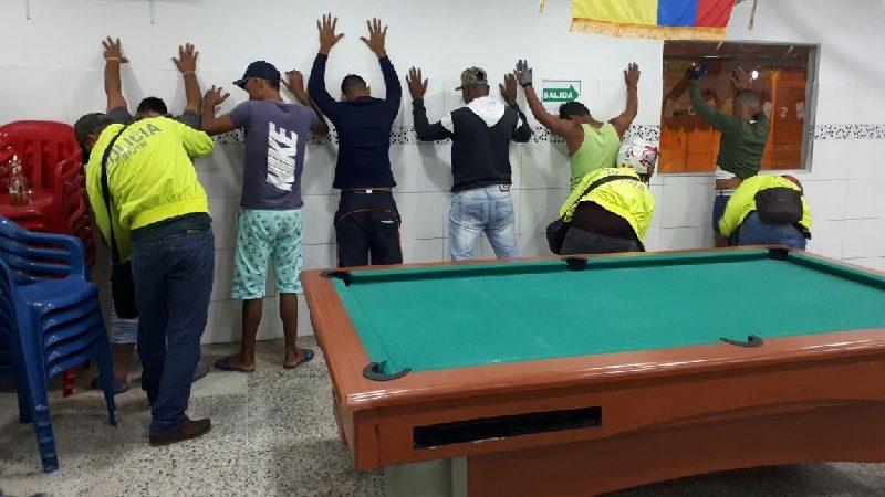 En el fin de semana, Policía capturó a 42 personas en Barranquilla