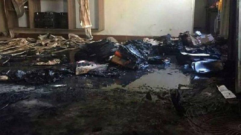 Incendio en guardería deja cuatro niños y una profesora muertos