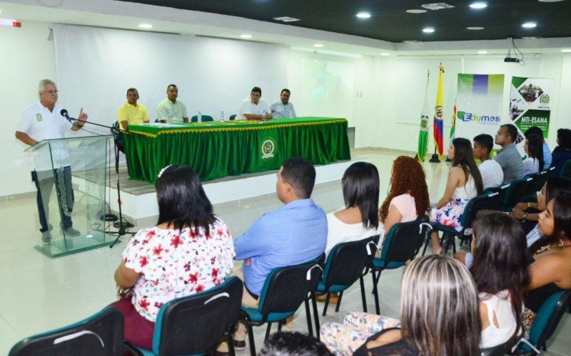Los 150 jóvenes se comprometen a trabajar por el medio ambiente de Soledad