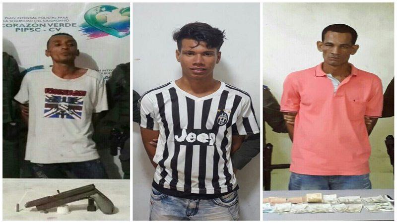 Policía captura a tres atracadores en San Roque, El Bosque y municipio de Galapa