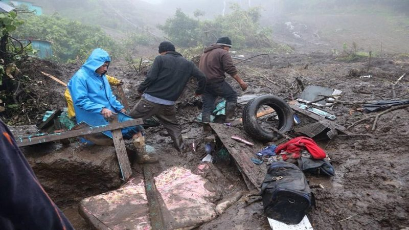 Tormenta Nate deja 22 muertos en Centroamérica