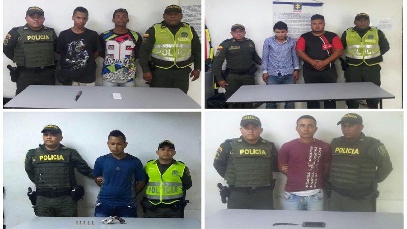 Caen seis atracadores en Las Nieves, Los Trupillos y Barranquillita