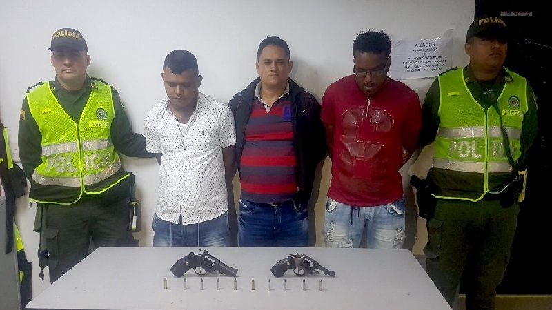 Capturan a tres integrantes de la banda 'Los Calderitos' en el barrio Alto Prado