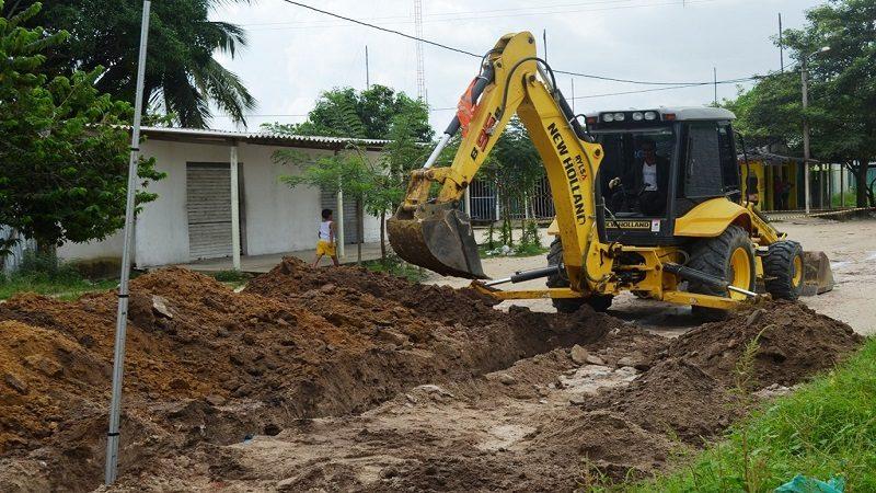 Comienza construcción de alcantarillado en los barrios el Progreso y los Ciruelos de Malambo
