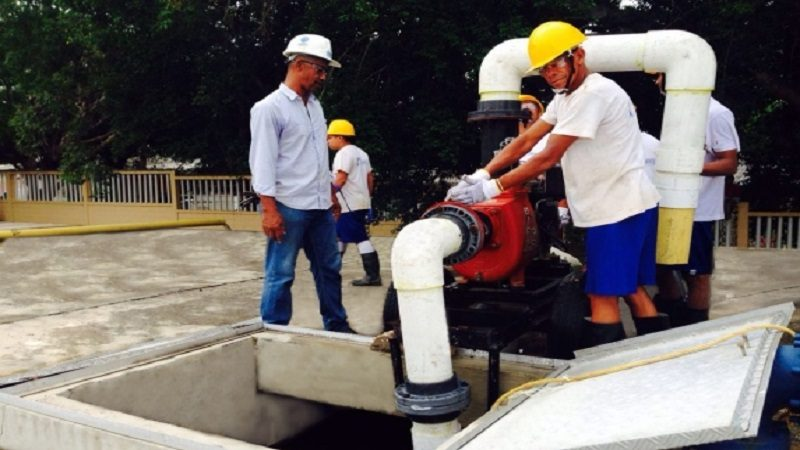 Este martes 28 de noviembre, bajas presiones de agua en Galapa, por lavado de tanque