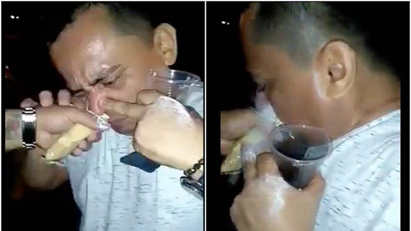Hombre que aparece en vídeo consumiendo droga no es funcionario de la alcaldía de Malambo