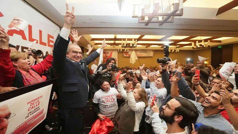 Humberto De la Calle, candidato presidencial del Partido Liberal