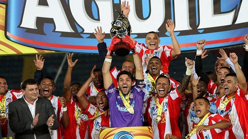 Junior, campeón de la Copa Águila, tras derrotar 2-0 a Medellín