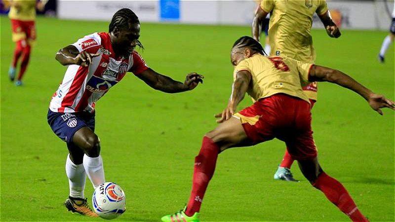 Junior empató 2-2 con Rionegro Águilas en Barranquilla
