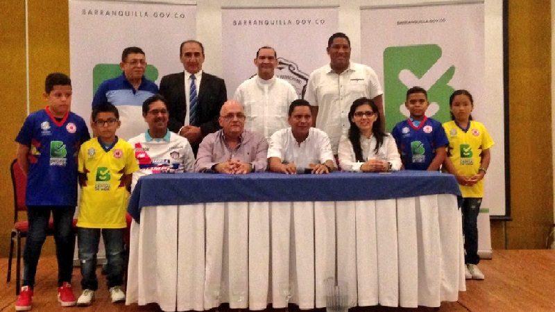 Lanzan en Barranquilla el torneo de fútbol infantil 'Haz un PAZegol'