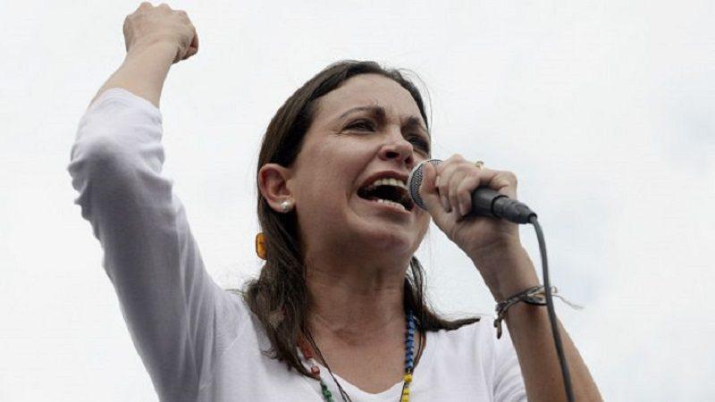María Corina Machado y distintos líderes celebran fuga de Ledezma