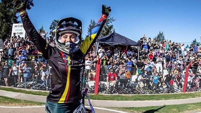 Mariana Pajón gana oro en la contrarreloj de los Bolivarianos