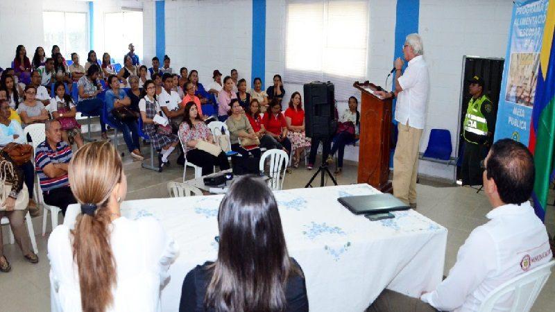 Niños de colegios oficiales de Soledad recibieron 29 mil raciones de alimentos durante 2017