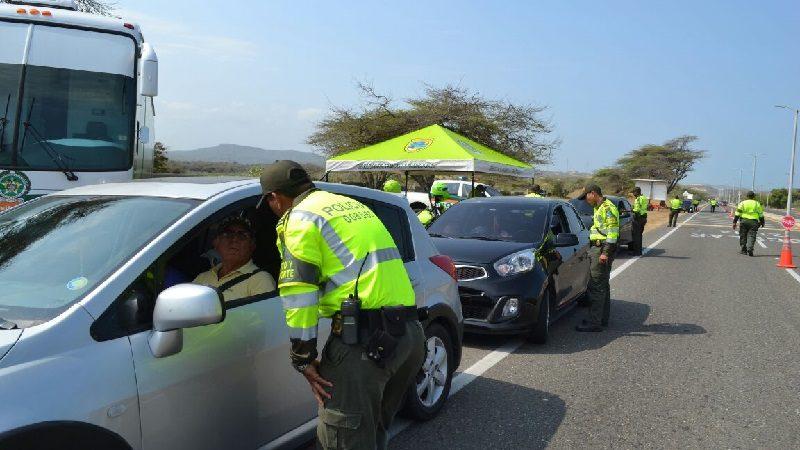 Policía impuso más de 1.400 comparendos en Barranquilla, en el puente festivo