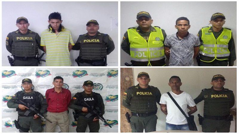 Policía reporta la captura de 46 personas en Barranquilla por diferentes delitos