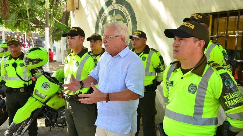 Alcalde de Soledad anuncia la llegada de 30 policías de tránsito al municipio