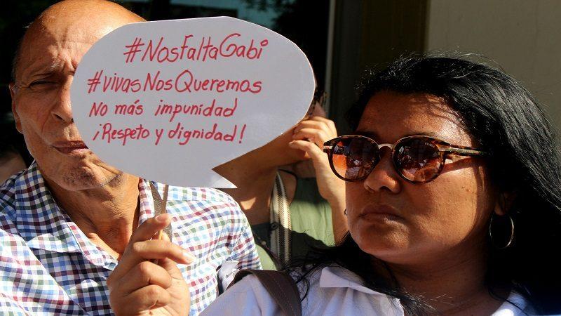 Barranquilla protestó para exigir justicia por el feminicidio de Gabriela Romero