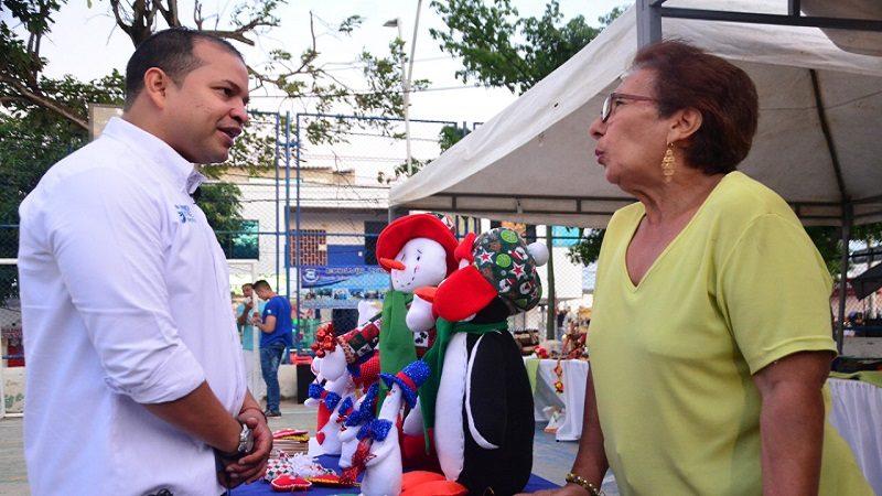 Comenzó feria artesanal navideña en el municipio de Soledad