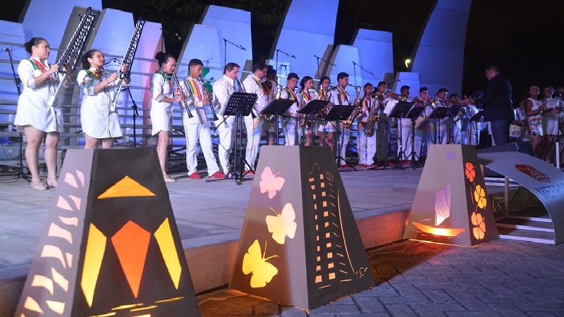 Con música, Coro y Banda Distrital dan la bienvenida a la Navidad en 'Todos al Parque'