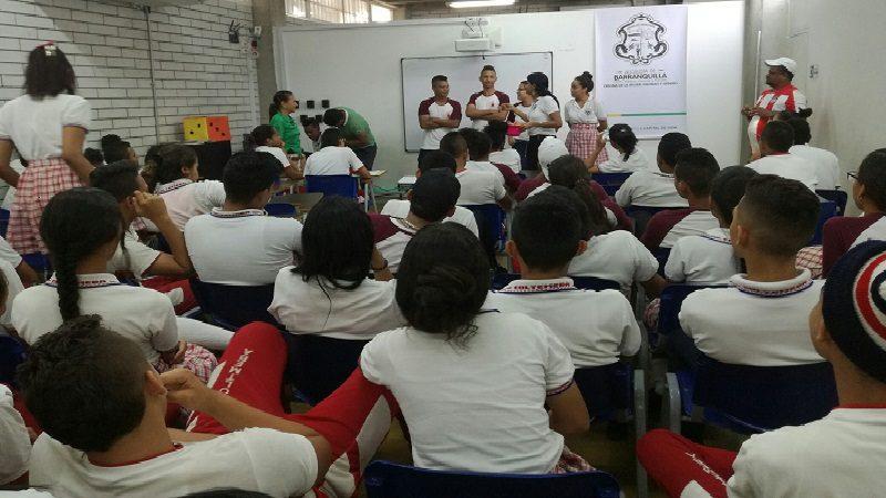 Distrito concientiza a jóvenes de Barranquilla sobre salud sexual, reproductiva y género