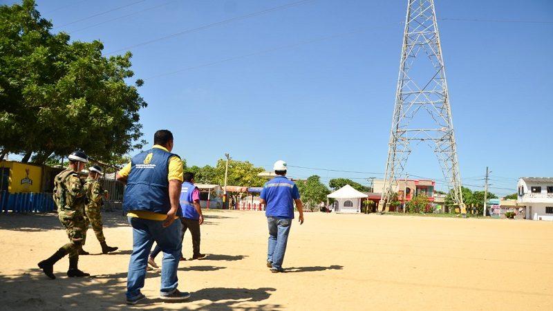 Edumas investiga si torres de energía en Soledad causan efectos en la comunidad