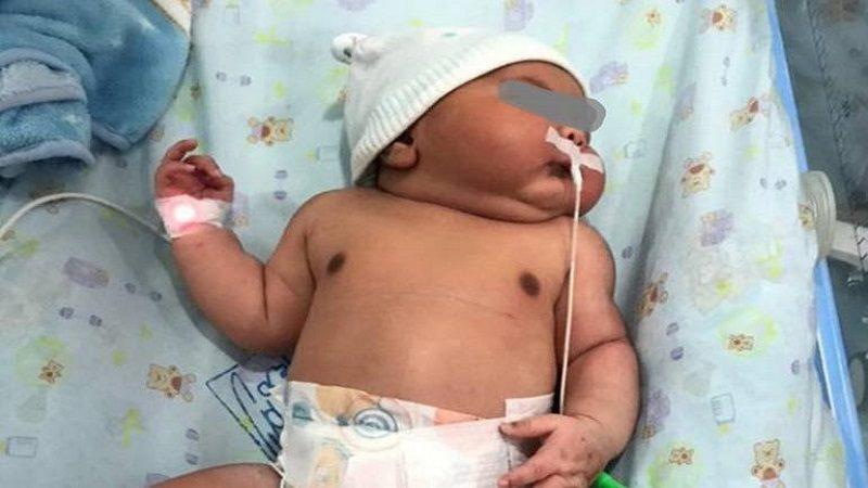 Nace en Ciénaga, Magdalena, el bebé más grande de Colombia
