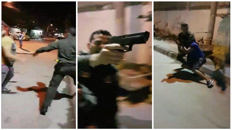 Un herido a bala deja enfrentamiento entre Policía y comunidad en el barrio Rebolo