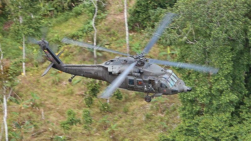 Al menos 7 militares murieron al accidentarse helicóptero del Ejército en Antioquia