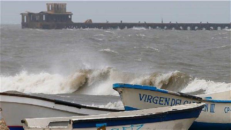 Alerta en la Región Caribe por frente frío que causa fuertes vientos y grandes olas
