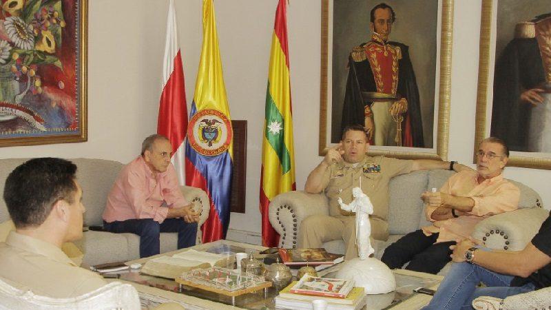 Almirante Juan Rozo Obregón, nuevo director de la Escuela Naval ARC de Barranquilla