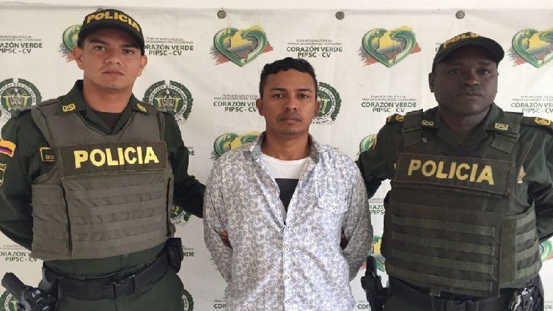 Capturan a alias 'el Lagarto', uno de los más buscados por homicidio en Barranquilla