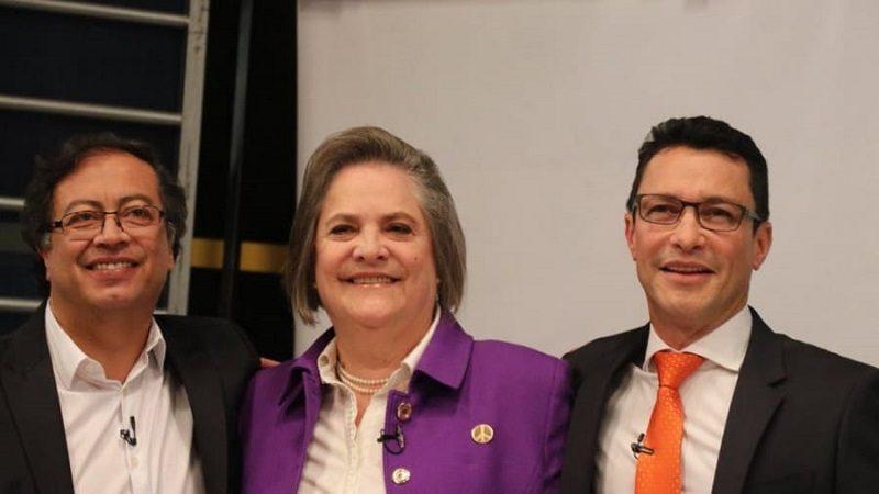 Clara López, Gustavo Petro y Carlos Caicedo van a consulta en marzo