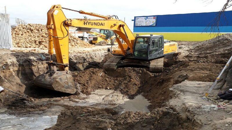 Comienza canalización del arroyo 'el Sapo', sector el Manguito de Malambo