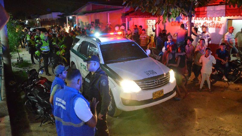 Con más de 200 policías refuerzan la seguridad en Soledad por temporada de carnaval