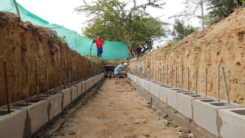 Construyen puente peatonal en San José de Saco para evitar accidentes en temporada de lluvias