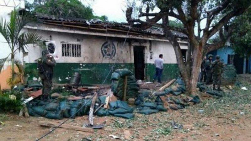 Dos policías muertos deja atentado terrorista en el sur de Bolívar