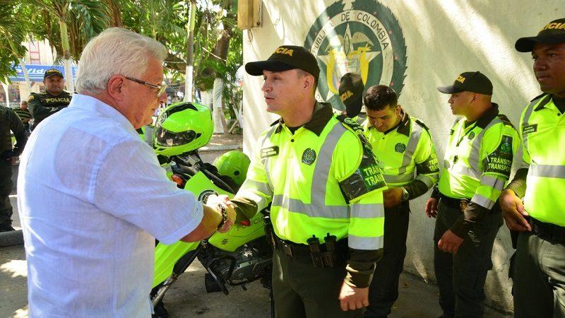 Este martes, 30 agentes de la Policía se incorporan al Tránsito de Soledad