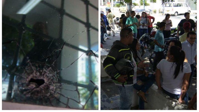 Fleteo a gerente de Clínica del Sol termina en balacera en el norte de Barranquilla