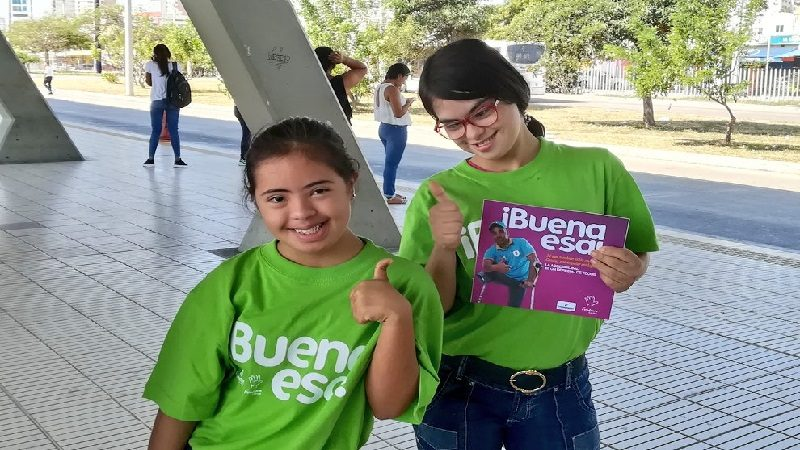 Fundown Caribe lanza campaña #BuenaEsa en buses y estaciones de Transmetro