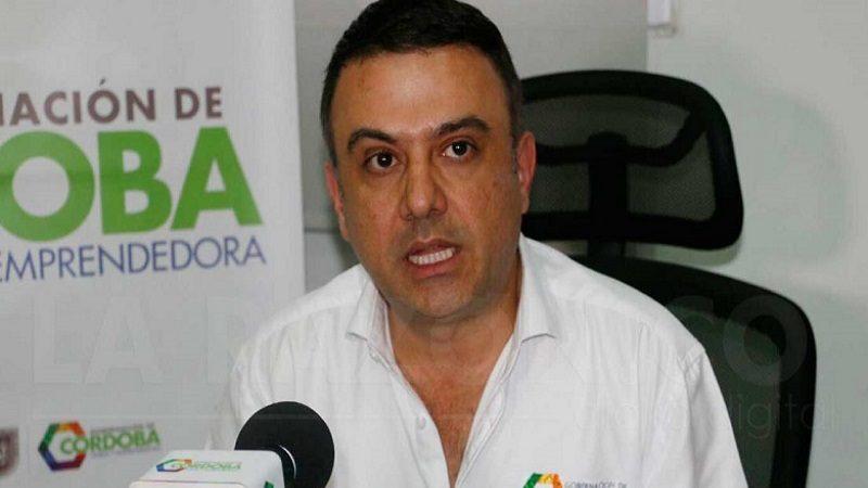Gobernación de Córdoba dice que suspensión a Besaile es innecesaria y excesiva