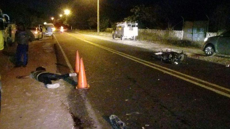 Identifican a motociclista que murió en accidente de tránsito en Puerto Colombia