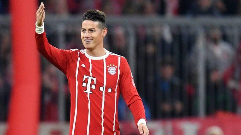 James, titular y figura en la victoria del Bayern 4-2 contra el Bremen